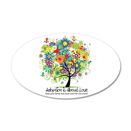 2-FAMILY TREE ONE MORE.png 35x21 Oval Wall Decal
