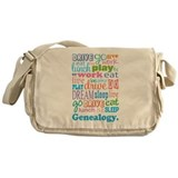 Genealogy Messenger Bag