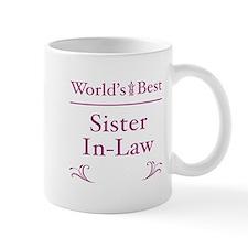 Floral Sister-In-Law Mug
