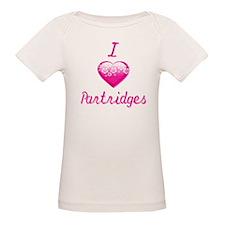 I Love/Heart Partridges Tee