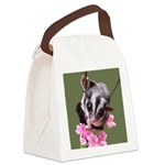 Flowers #8 Canvas Lunch Bag