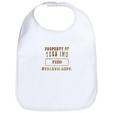 Personalized Property of Tosa Inu Bib