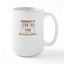 Personalized Property of Tosa Inu Mug