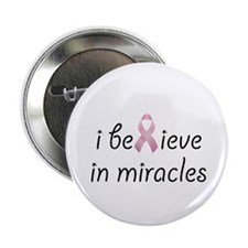 "i believe in miracles 2.25"" Button (100 pack)"