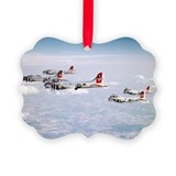 Unique Army aviation Picture Ornament