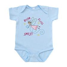 Brush Floss Smile Infant Bodysuit