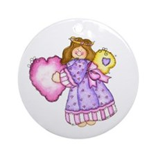 Angel And Heart Keepsake Ornament