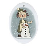 Annie's First Snowman Christmas Tree Ornament