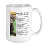 Dog breed chocolate lab Mugs