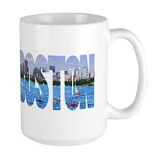 Boston Back Bay Skyline Mug