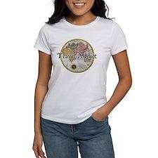 Travel Addict 'Style 2' Black T-Shirt T-Shirt T-Sh