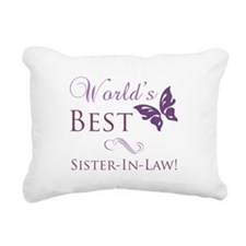 World's Best Sister-In-Law Rectangular Canvas Pill