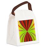 redmulti_square001.png Canvas Lunch Bag