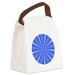 lt_dk_blue_square.png Canvas Lunch Bag