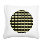 yellow_flower_square.png Square Canvas Pillow