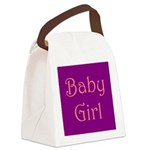 baby girl std t png 2.png Canvas Lunch Bag