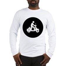Scooter Rider Long Sleeve T-Shirt