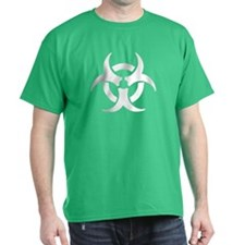 Biohazard Symbol Black T-Shirt