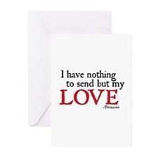 Jane Austen Send love Cards (Pk of 10)