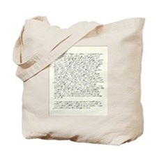 Jane Austen Persuasion Letter Tote bag