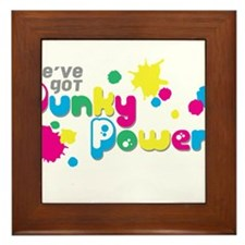 Punky Power Framed Tile