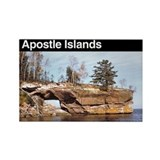Apostle Islands National Seashore Rectangle Magnet