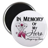 In Memory Throat Cancer Magnet