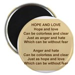 HopeAndLovePoem.jpg Magnet