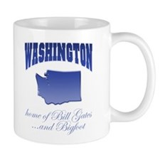 """Washington/Bigfoot"" Mug"