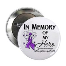 "In Memory Pancreatic Cancer 2.25"" Button"