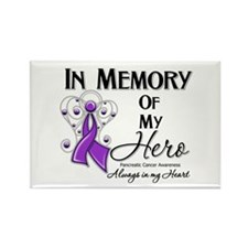 In Memory Pancreatic Cancer Rectangle Magnet (10 p