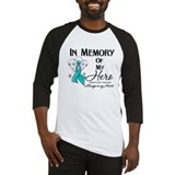 In Memory Ovarian Cancer Baseball Jersey