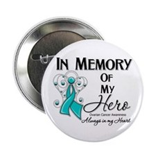 "In Memory Ovarian Cancer 2.25"" Button (10 pack)"