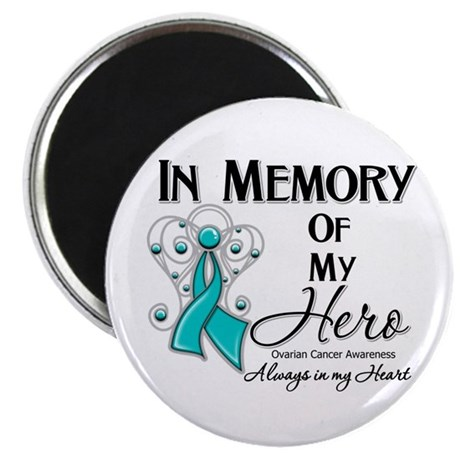 In Memory Ovarian Cancer Magnet