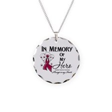 In Memory Multiple Myeloma Necklace