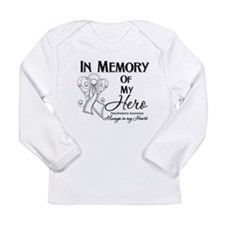 In Memory Mesothelioma Long Sleeve Infant T-Shirt
