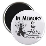 In Memory Hero Melanoma Magnet