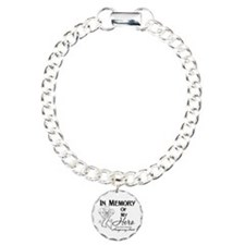 In Memory Lung Cancer Bracelet