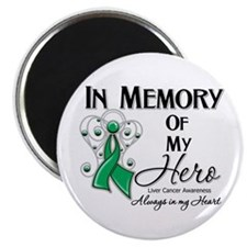 "In Memory Liver Cancer 2.25"" Magnet (100 pack)"