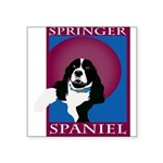SPRINGERSPANIAL11.png Square Sticker 3
