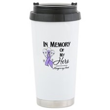 In Memory General Cancer Ceramic Travel Mug