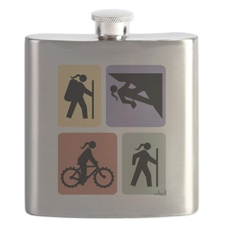 Multi Sport Girl Flask