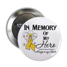 """In Memory Childhood Cancer 2.25"""" Button (10 pack)"""