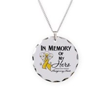 In Memory Childhood Cancer Necklace