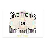 Thanks for Dandie Dinmont Postcards (Package of 8)