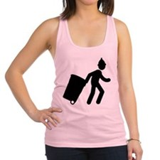 Waste Collector Racerback Tank Top