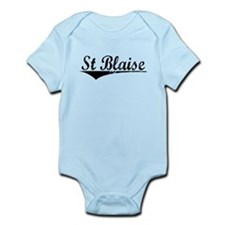 St Blaise, Aged, Infant Bodysuit