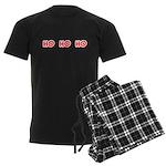 Ho Ho Ho Men's Dark Pajamas