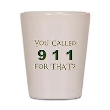 911 Shot Glass