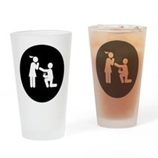 Proposing Drinking Glass